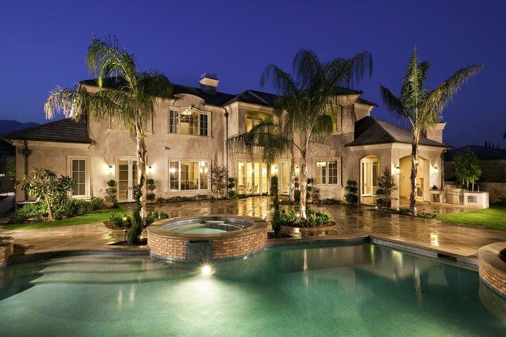 12 best custom dream home images on pinterest candelabra for Southern california custom home builders