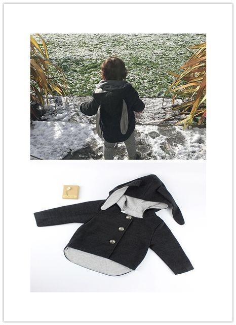 >> Click to Buy << ins* 2017 baby boys girls woolen coat rabbit design kids spring autumn top coats 1-4Y high quality fashion free shipping #Affiliate