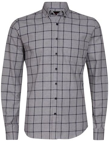 Basic Flannel LS Shirt - Dressmann