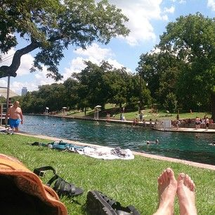Because it has the best places to cool off, like Barton Springs… | 27 Reasons Living In Texas Ruins You For Life