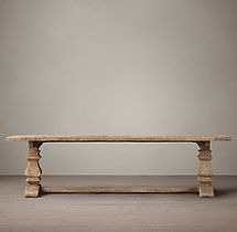 Salvaged Wood Trestle Extension Dining Tables Charlie Simmons Minneapolis House Traditional