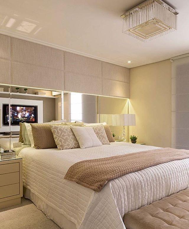 quarto de casal by Monise Rosa.