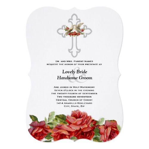 Catholic Wedding Invitations: 177 Best Catholic Wedding Invitations Images On Pinterest