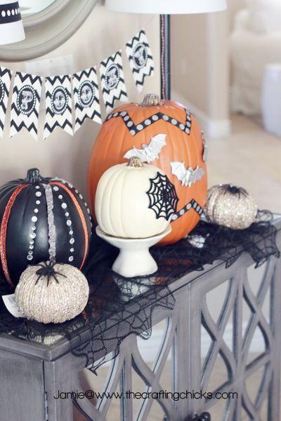 Glammed Up Pumpkins