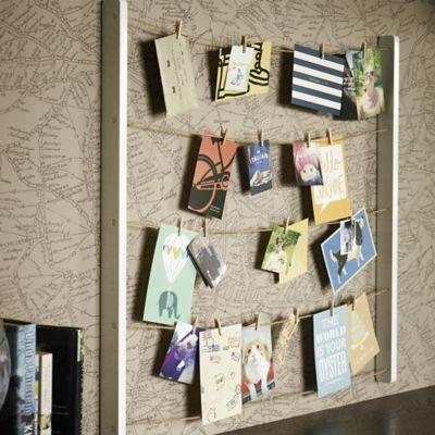 Schöne Aufbewahrung für Fotos, Postkarten, Einladungen oder die Speisekarte(n) vom Lieferservice... lakeland.co.uk lakeland.de