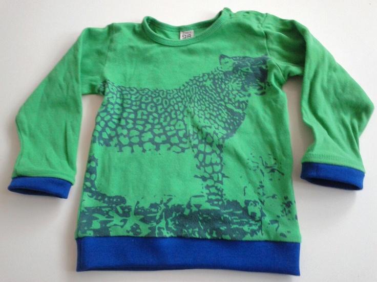 Romper wordt trui: deze luipaard mag gezien worden!