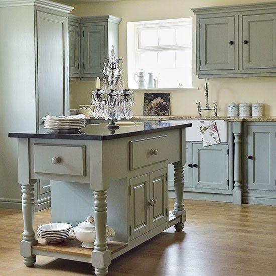 Period French-inspired kitchen | Freestanding kitchens | Kitchen decorating ideas | PHOTO GALLERY | Beautiful Kitchens | Housetohome.co.uk