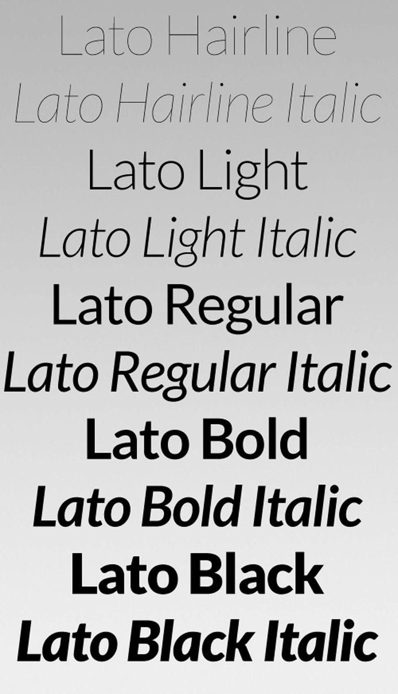 Lato Free Font Download | Designrazzi