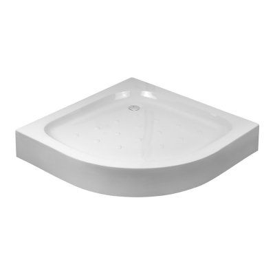 Deante Standard New brodzik półokrągły 90 cm biały KTA053B