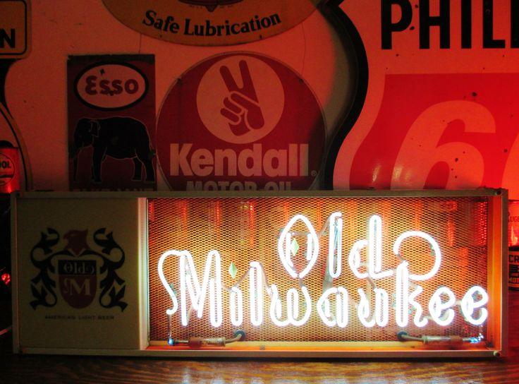 Very Rare OLD MILWAUKEE Marquee Neon Sign, circa 1962