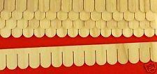 Dollhouse Fish Scale Shingle Strips, 12 pc/pkg