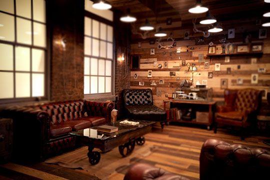 Whiskey Lounge At Milk Studios Cloaks L Wren Scott And