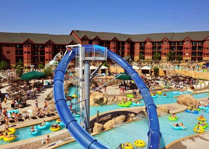1000 images about places to stay wisconsin dells on for Dells wilderness cabin