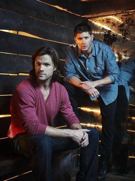 Fotos de elenco da 9ª temporada de Supernatural! - Minha Série