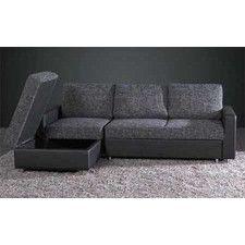 Modular Adjust Sofa Bed W/ Chaise Lounge U0026 Storage