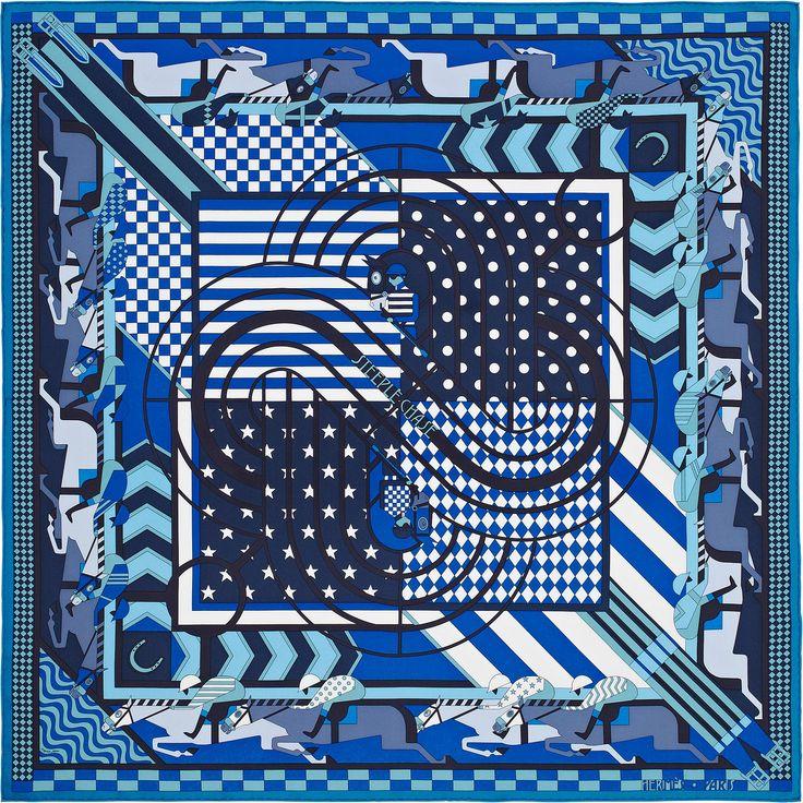 "36"" x 36"" scarf Hermès | Steeple Chase"