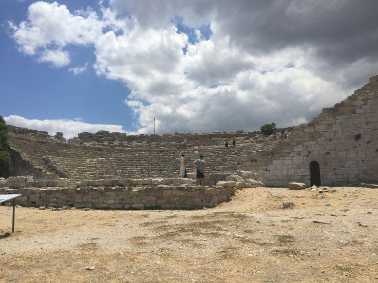 Segesta, teatro greco.