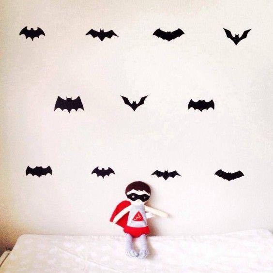 Little Pop Studio - Bat History Wall Decals - Ragamuffins New Zealand