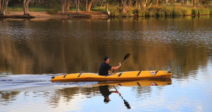 canoeing on the Swan River