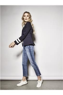 Blake Olympic Blazer Ivana Stripe Jeans  - LookBook