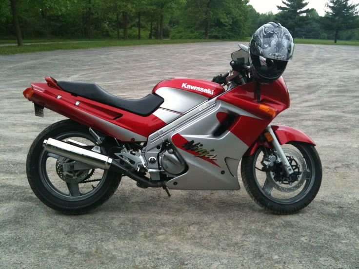 1997 Kawasaki Ninja 250 cc -- I was driving the mini van and needed something cool, got this as a learning bike, hated the riding position (2011)
