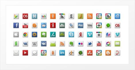 Squaes social media icons » Een moderne en complete iconenset met alle iconen die je nodig hebt! De Squaes Social media iconen kun je gratis downloaden in .PNG formaat in de resoluties 24×24 pixels, 48×48 pixels en 64×64 pixels.