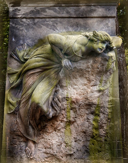 """Headstone in Ireland: """"Death leaves a heartache no one can heal, love leaves a memory no one can steal."""""""