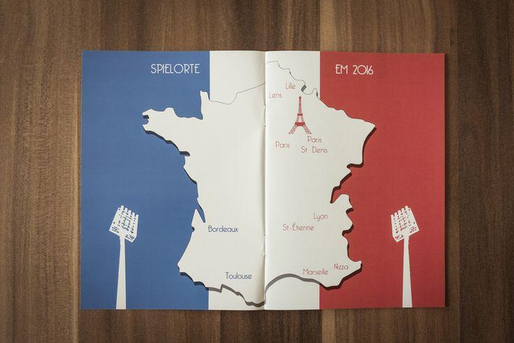 Die Fussball-Europameisterschaft in Frankreich wirft bereits ihre Schatten voraus: Kommerziell übersättigt die Mega-Veranstaltung einen wie immer bereits Wochen vorher. Bunte Fußbälle, Sammelalben,...