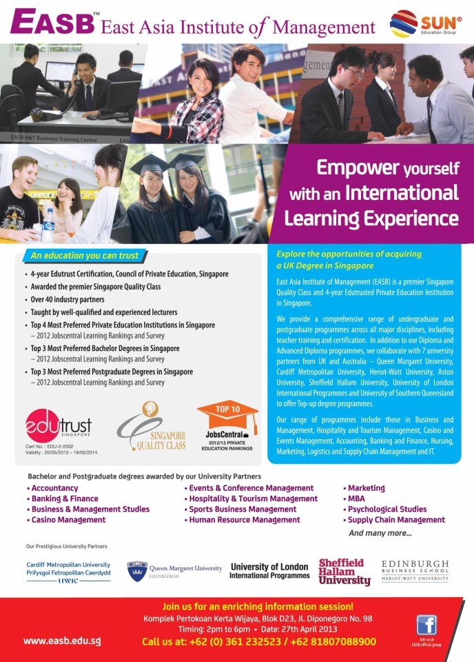 World top 250 universities expo 2013 | Konsultan Pendidikan Luar Negeri
