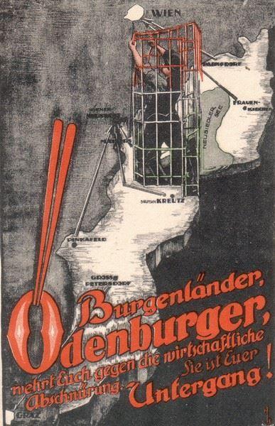 Burgenlandiak, soproniak, legyetek minél többen a gazdasági elszakítás ellen, ami a pusztulásotokat jelenti!