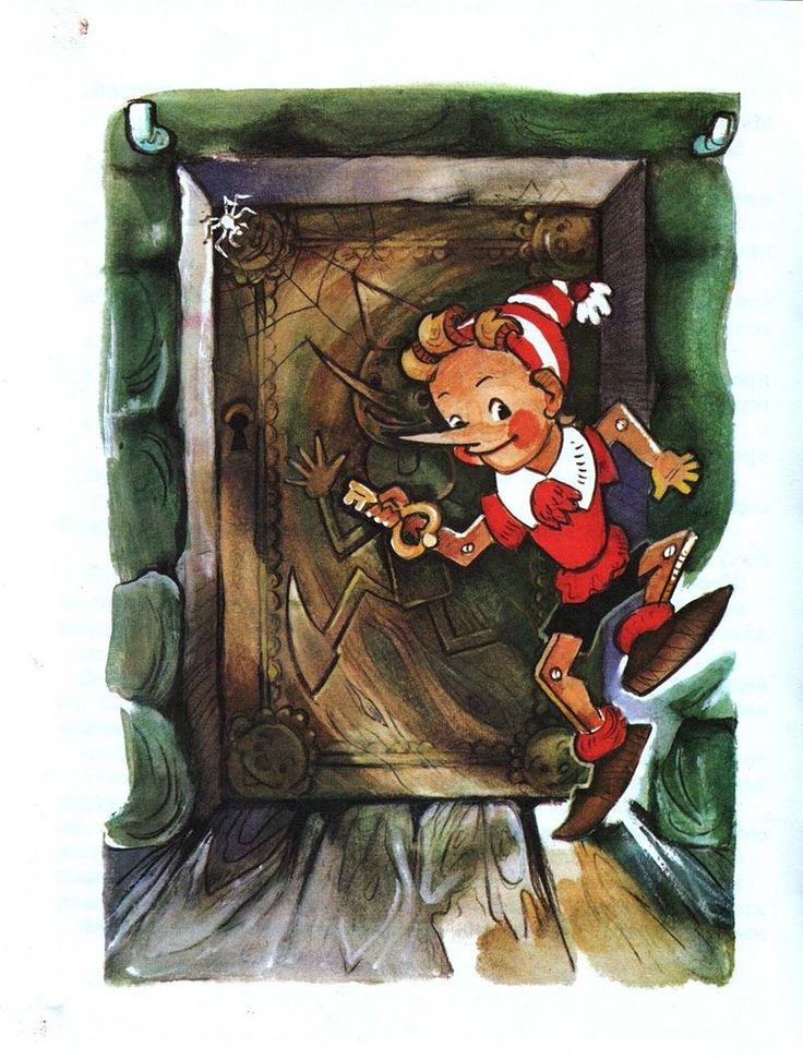 Дверь в каморку папы карло картинки