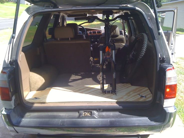 Fits my 4Runner great, cost me like \ or so. The mounts are Sette and they do a pretty good job. My bike mounts far to the driver's side very nicely