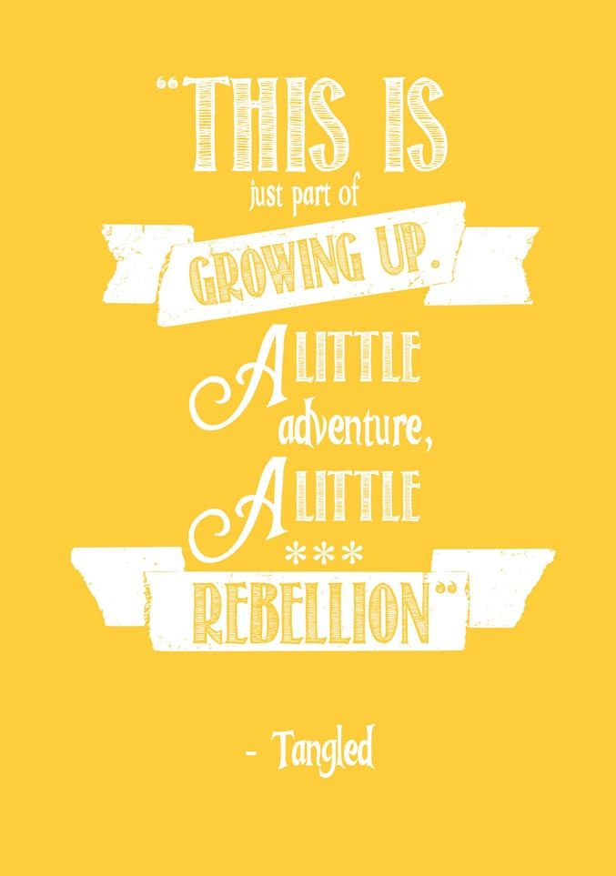 this is just a little part of growing up. a little adventure, a little rebellion.