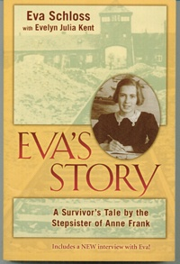 This is an updated version of the memoirs of Eva Schloss, who was the posthumous stepsister of the immortal Anne Frank.  Originally published in 1988, the current edition brings readers up to date on the lives and deaths of the post-Holocaust family of Anne's father, Otto Frank