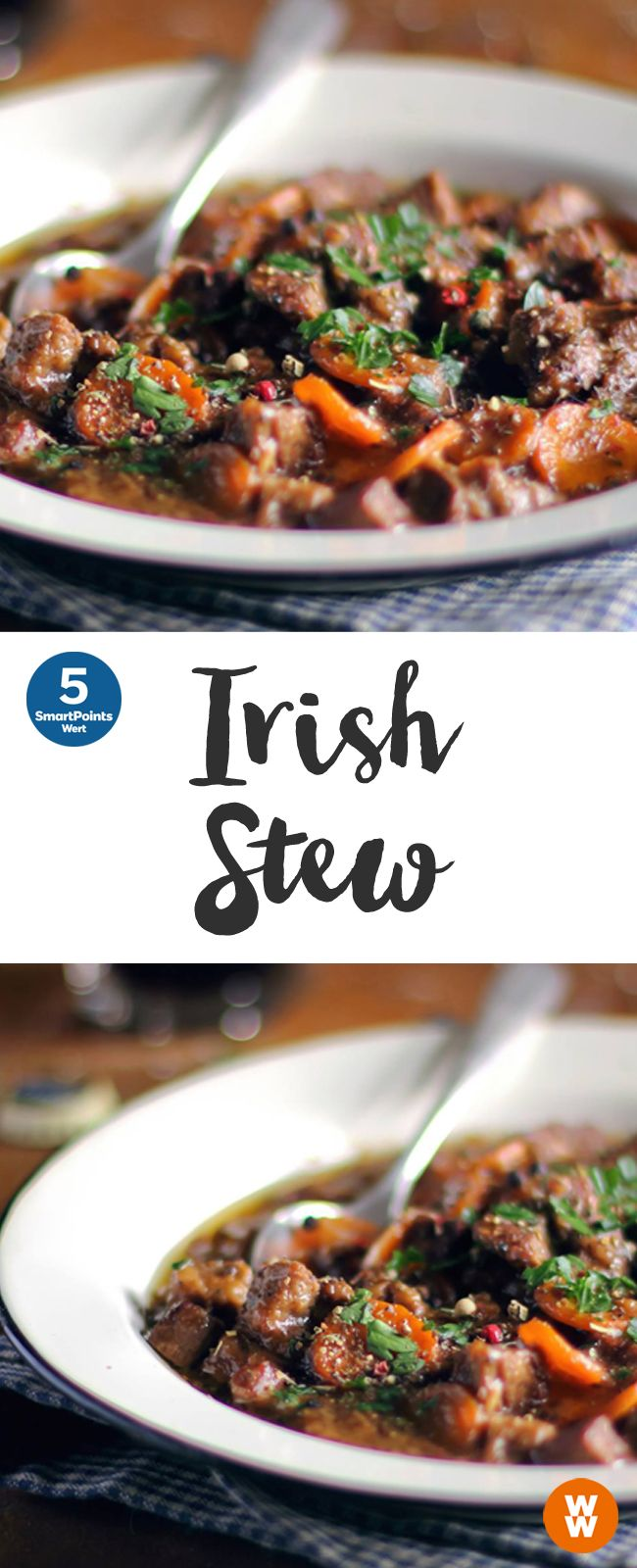 Irish Stew | 4 Portionen, 5 SmartPoints/Portion, Weight Watchers, fertig in 60 min.