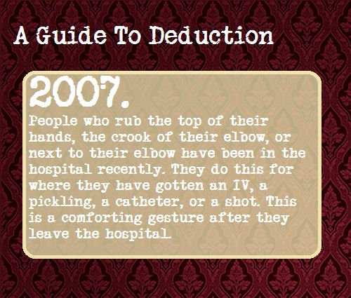 A Guide To Deduction, Suggested by lord-of-the-wizard-olympians