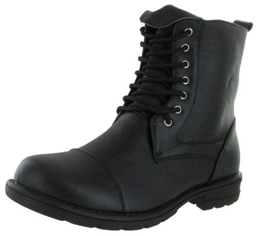 Moda Essentials Men's Combat Boots Military Fashion Work Inspired - http://authenticboots.com/moda-essentials-mens-combat-boots-military-fashion-work-inspired/
