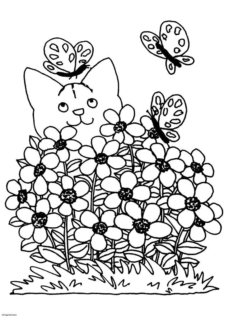 9 luxus frühlingsblume zeichnung portrait  ausmalbilder