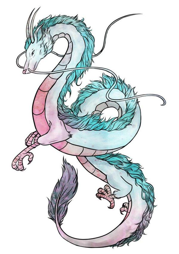 Haku Spirited Away By Camomile12 Deviantart Com On Deviantart Ghibli Tattoo Studio Ghibli Tattoo Studio Ghibli