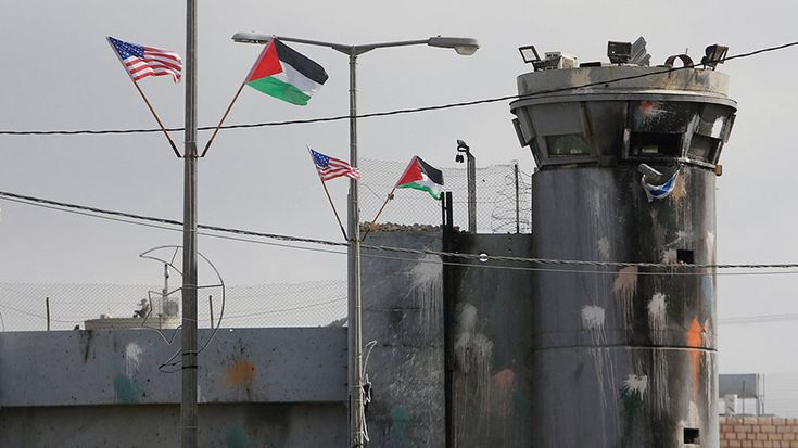 "The Palestinian Authority has ""frozen"" all contacts with the US over its decision to close the DC office of the Palestine Liberation Organization."