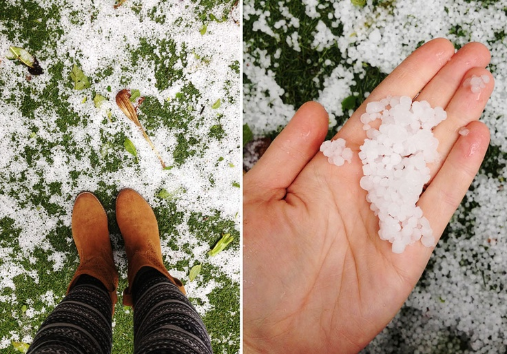 Hail in Cape Town #winter #hail #storm #capetownwinter