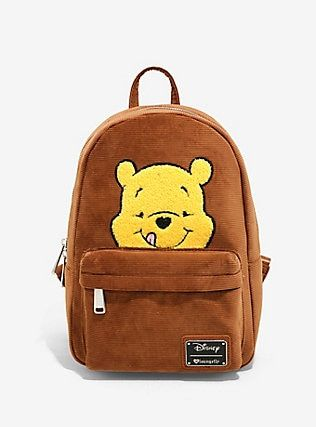 30073d7376f Loungefly Disney Winnie The Pooh Corduroy Mini Backpack - BoxLunch  Exclusive