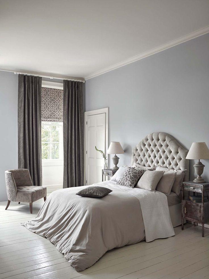 Romantic Bedroom Wallpaper. Chiswick Grove. Sanderson. Wirz Tapeten AG