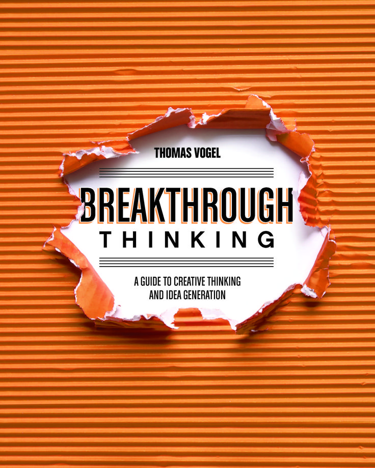 Book Cover Design Ideas 35 creative examples of typography in book cover design Breakthrough Thinking Cover Design By Claudean Wheelerjpg