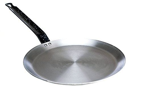 Paderno World Cuisine 7 1/8-Inch Carbon Steel Crepe Pan