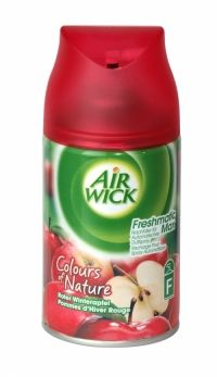 Air Wick Freshmatic Max Refill 250ml Winter Apple Use with Air Wick Freshmatic Max Auto Spray unit. Air Wick Freshmatic puts you in control ensuring your home always smells fresh & welcoming. Simply set the intensity control to match the needs of your home and Air Wick Freshmatic will automatically release bursts of fresh fragrance. Contains foreign text