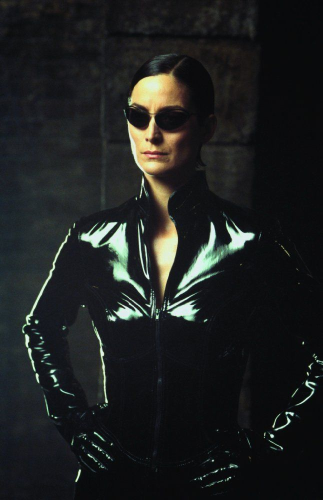 Carrie-Anne Moss in The Matrix Reloaded (2003)
