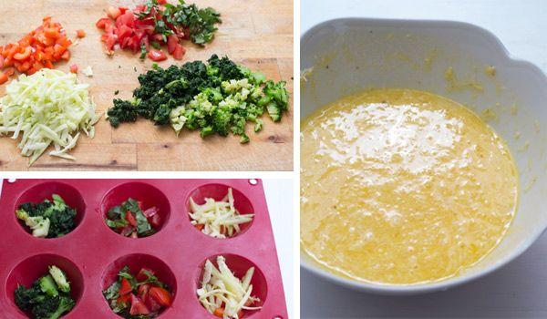 Tortillas de verdura fáciles