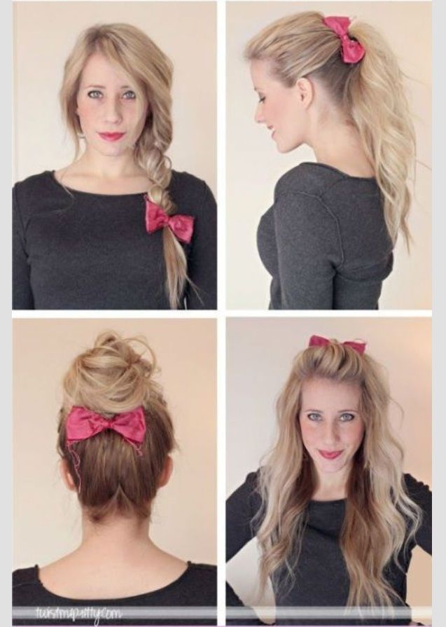21 Quick Lazy Girl Hairstyles Tutorial #hairstyles2015 #lazygirl_hairstyles #hairstyle_tutorials