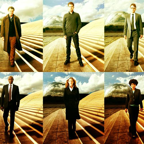 Walter Bishop, Peter Bishop, Lincoln Lee, Philip Broyles, Olivia Dunham, Astrid Farnsworth #Fringe